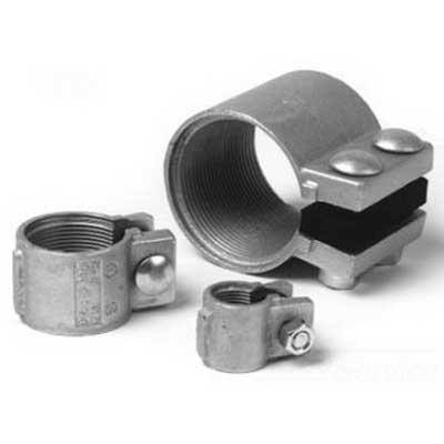Midwest TCC7 Split Conduit Coupling; 2-1/2 Inch, Ductile Iron