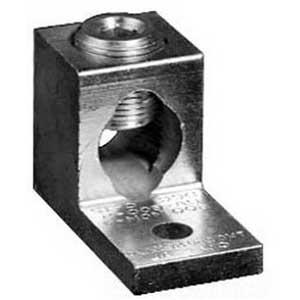 Milbank K1539 Insulated Single Lug Connector Kit; Aluminum, Stud Mount, 3/Set