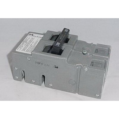 Milbank UQFB-200-X1 Circuit Breaker; 200 Amp, 120/240 Volt, 2-Pole, Bolt-On Mount