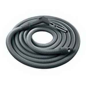 """""""""""Broan Nu-Tone CH235 Current Carrying Crush-Proof Hose 1-3/8 Inch ID x 30 ft Length Reinforced Vinyl, Dark Gray,"""""""""""" 95516"""