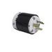 Pass & Seymour L1220-P Turnlok® Locking Plug; 3-Pole, 3-Wire, 20 Amp, 480 Volt AC, NEMA L12-20, Black and White