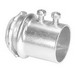 Peco 306ST Concretetight EMT Connector; 2-1/2 Inch, Set-Screw, Steel, Zinc-Plated