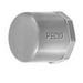 Peco VEC-200 End Cap; 2 Inch, PVC
