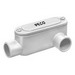 Peco VLL-300 Type LL Fitting With Cover and Gasket; 3 Inch Hub, PVC