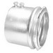 Peco 307ST Concretetight EMT Connector; 3 Inch, Set-Screw, Steel, Zinc-Plated