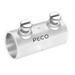 Peco 310ST Concretetight EMT Coupling; 1/2 Inch, Set Screw, Steel, Zinc-Plated