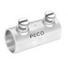 Peco 312ST Concretetight EMT Coupling; 1 Inch, Set Screw, Steel, Zinc-Plated