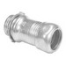 Peco 264ST Concretetight EMT Connector; 1-1/2 Inch, Compression, Steel, Zinc-Plated