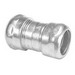 Peco 329ST Raintight Concretetight EMT Coupling; 4 Inch, Compression, Steel, Zinc-Plated