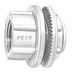 Peco WH-4 Watertight Hub With Insulated Throat; 1-1/4 Inch, Die-Cast Zinc