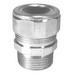 Peco CG-50-A560 Strain Relief Cord Grip Connector With Bushing; 1/2 Inch, 0.560 - 0.450 Inch, Steel