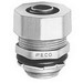 Peco RT-50 Straight Liqua-Seal Connector; 1/2 Inch, Zinc Die-Cast