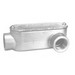 Peco LLC-50A Type LL Fitting With Cover and Gasket; 1/2 Inch Hub, Pressure Cast Copper Free Aluminum