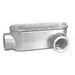 Peco LLC-75A Type LL Fitting With Cover and Gasket; 3/4 Inch Hub, Pressure Cast Copper Free Aluminum