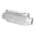 Peco CC-150A Type C Fitting With Cover and Gasket; 1-1/2 Inch Hub, Pressure Cast Copper Free Aluminum