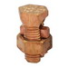 Peco SB-500 Split Bolt Connector; 250-500 MCM, Silicone Bronze
