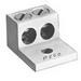 Peco RU-600 Solderless Lug; 600 MCM - 2 AWG Aluminum/Copper, 17/32 Inch Bolt, Aluminum, Electro-Tin Plated