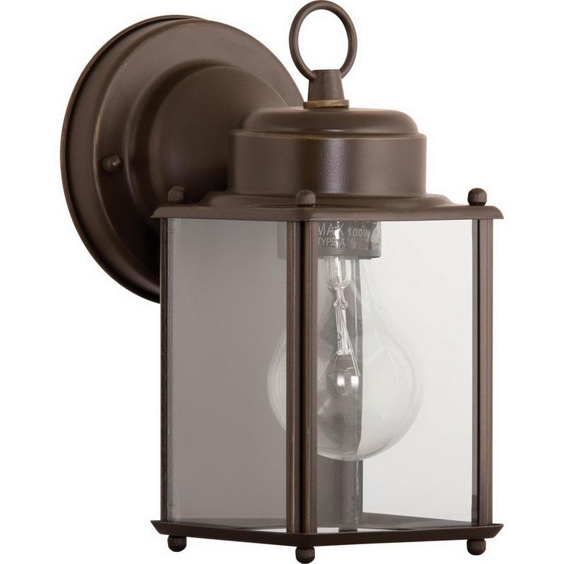 Progress Lighting P5607-20 Wall Lantern 100 Watt  Antique Bronze