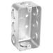 Garvin G19281 Handy/Utility Box; 4 Inch Width x 1-7/8 Inch Depth x 2.130 Inch Height, Steel, 10-Knockouts
