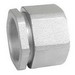 Garvin 3PC75 Three Piece Coupling; 3/4 Inch, NPT, Malleable Iron, Zinc-Plated