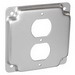 Garvin G1938 Raised Square Cover; 1/2 Inch Depth, Steel