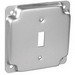 Garvin G1935 Raised Square Cover; 1/2 Inch Depth, Steel