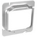 Garvin 72C18 4-11/16 Inch 2-Gang Square Raised Box Cover; 0.750 Inch Depth, Steel, Box Mount