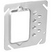 Garvin 52C10 Raised 1-Gang Square Offset Device Ring; 1/4 Inch Depth, Drawn Steel
