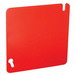 Garvin 52C1-RED 4 Inch Square Flat Blank Cover; Steel, Box Mount