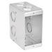 Garvin TB-135 1-Gang Masonry Box; 2 Inch Width x 3.500 Inch Depth x 3.750 Inch Height, Steel, 10-Knockouts