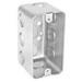 Garvin 4SSLD-1/2 Handy/Utility Box; 4 Inch Width x 2.500 Inch Depth x 2.130 Inch Height, Steel, 11-Knockouts