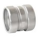 Garvin RTC125 Threadless Compression Coupling; 1-1/4 Inch, Steel, Zinc-Plated