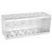 Garvin TB-535 5-Gang Masonry Box; 3.500 Inch Depth x 3.750 Inch Height, Steel, 34-Knockouts
