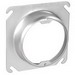 Garvin 52C3-1 Raised Square to Round Device Plaster Ring; 1 Inch Depth, Steel
