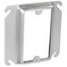 Garvin 52C14-5/8 Raised 1-Gang Square Device Ring; 5/8 Inch Depth, Steel