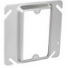 Garvin 52C13 Raised 1-Gang Square Device Ring; 1/2 Inch Depth, Steel