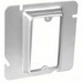 Garvin 72C14 4-11/16 Inch 1-Gang Square Raised Box Cover; 0.750 Inch Depth, Steel, Box Mount