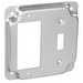 Garvin G1948 Raised Square Cover; 1/2 Inch Depth, Steel