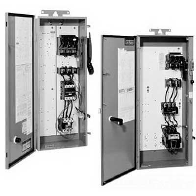 Schneider Electric / Square D 8940SSC4010V02S Fusible Disconnect Switch Pump Panel; 480 Volt AC, 30 Amp, 3-Pole, 3-Phase, NEMA 3R, Surface Mount