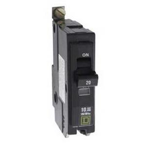 Schneider Electric / Square D QOB2100H Miniature Circuit Breaker With VISI-TRIP® Indicator; 100 Amp, 240 Volt AC, 2-Pole, Bolt-On Mount