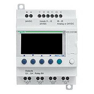 Schneider Electric / Square D SR3PACKBD Zelio Modular Smart Relay 8 Amp  24 Volt DC