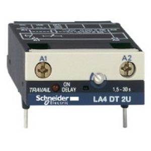 Schneider Electric / Square D  LA4DT2U TeSys® Serial Relay Timer Module; 250 Volt, 3 Pole