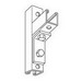 Steel City B-915-HD B-915 Series 2-Hole Angle Connector; Steel, Hot-Dipped Galvanized