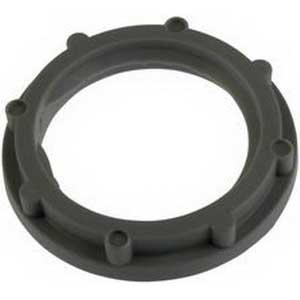 Steel City LN-501 Non-Metallic Locknut; 1/2 Inch, Threaded, Nylon 6/6