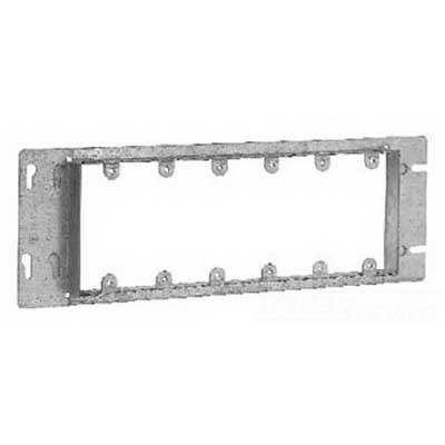 Thepitt TP667 6-Gang Box Cover; Steel, Natural