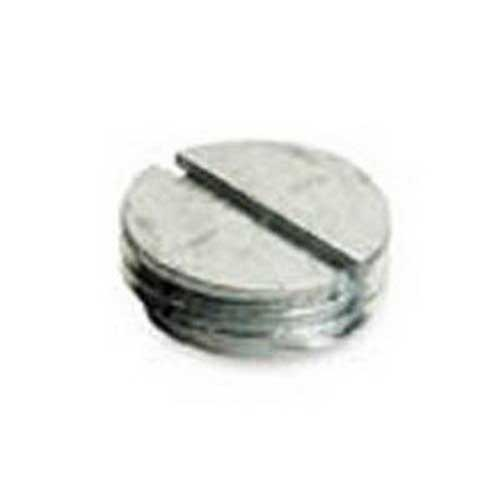 Thepitt TP7948 Closure Plug; 1 Inch, Die-Cast Zinc