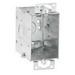 Thepitt TP138 1-Gang Deep Switch Box; 2.250 Inch Depth, 10.5 Cubic-Inch, Steel