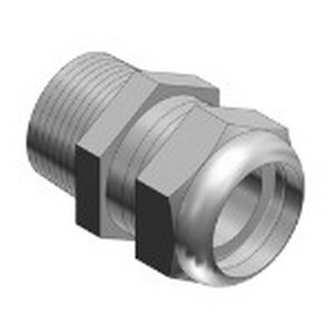 Thomas & Betts 2918SST Ranger Liquidtight Cable Gland 1/4 Inch- 0.118 - 0.256 Inch- Stainless Steel-