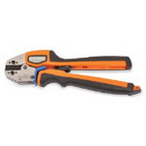 Thomas & Betts ERG4002 Shure Stake Ratchet Manual Crimp Tool; 22-10 AWG