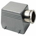 Thomas & Betts SH132AMV Side Entry Double Lever Locking Post Hood; 20-14 AWG Screw Terminal, Die-Cast Aluminum Alloy, 1 Inch NPT Hub